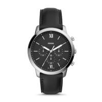 Jam Tangan Pria Fossil Neutra Chronograph Black Leather FS5452