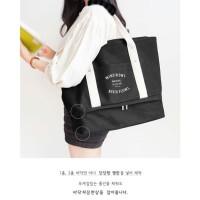 Korea Iconic Layer Bag / Travel Organizer Tote / Tas Shoulder A588