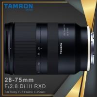 Lensa Tamron 28-75mm F2.8 Di III RDX for Sony FE w/ Hood