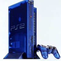 PS2 FAT HARD DISK 160 GB NA multy bisa kaset+ 2 STICK ANALOG GETAR