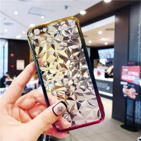 Vivo V9 V 9 Silicone 3D Diamond transparan Soft case casing hp slim