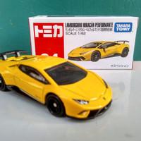 Lamborghini Huracan Performante Tomica Reguler no 34 Diecast mobil