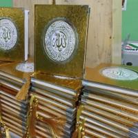 Cetak Buku Yasin Hardcover Gold/Silver Metalik 208 Hal HVS