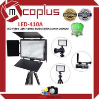 Mcoplus LED-410A LED Video Light 410pcs Bulbs 5500K