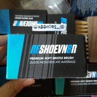 RESHOEVN8R Premium SOFT/SUEDE Brush. NOT Jason markk crep protect