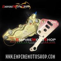 Kaliper Brembo CBR250RR CBR 250 RR 4 Piston Gold ABS