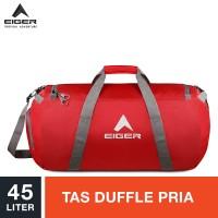 Eiger Concisor Folded Duffle Bag M 45L - Red / Tas Duffle Pria