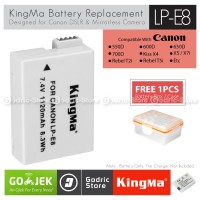 KingMa Baterai LP-E8 Canon Battery for EOS 700D 650D 600D 550D etc