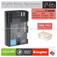 KingMa Baterai LP-E6 Canon Battery EOS 80D 70D 60D 6D 7D 5D2 5D3 etc
