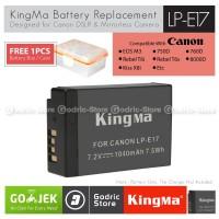 KingMa Baterai LP-E17 Canon Battery EOS M3 M5 M6 200D 750D 760D etc