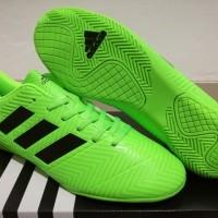 Sepatu Futsal Adidas Nemeziz Messi Tango 18.4 Electric Green