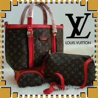 Tas wanita import tas kerja tas pesta handbags tas batam 086 CREAM