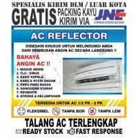 Talang AC/AC Reflektor/AC Shield/Penahan Angin AC (1/2PK-3/4PK 80cm)