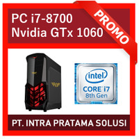 PC Core i7-8700 + RAM 16GB DDR4 + SSD + Nvidia GTx1060