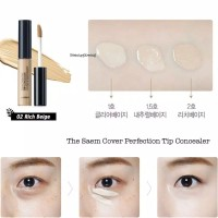the saem cover perfection tip concealer SPF28 PA++ ori