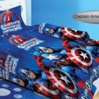 Bedcover 120x200 Lady Rose Captain America