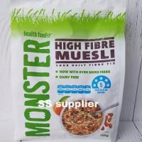 Monster Muesli, HIGH FIBRE MUESLI 700gram, Your Daily Fibre Fix!