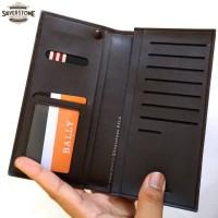 Dompet Pria Impor BALLY BL104 - Model panjang Long Wallet - Kulit