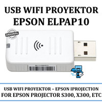 USB Wifi Proyektor Epson ELPAP10 Optional Wireless Lan Unit