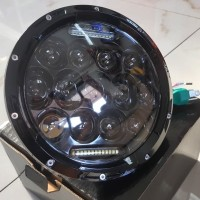 lampu daymaker 7 inchi untuk w175 royal moge harley rubicon