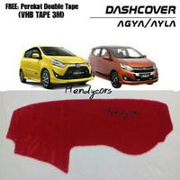 Alas Bulu Cover Dashboard Toyota Agya / Daihatsu Ayla (BULU RASFUR)