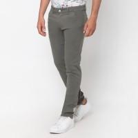 VENGOZ Celana Chino Pria Slim Fit - Grey