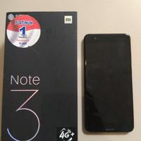 Xiaomi Mi Note 3 - RAM 6 / 128 GB Flagship Baru 2 bulan