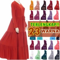 Gamis remple Jersey busui JUMBO