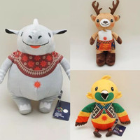 Set Boneka Asian Games READY limited Stock (bhin kaka atung)