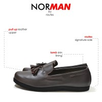 NORMAN BURGUNDY LOAFERS