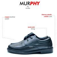 MURPHY BLACK DERBY SHOES