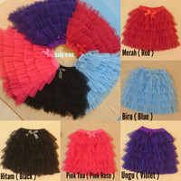 Rok Tutu Anak Dress Tutu Rok Balet Tutu Skirt