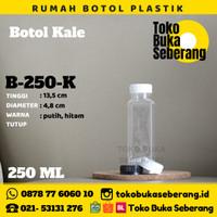 Botol Kale Kotak Kick Plastik 250 ml (K) / Botol Jus / Botol minum Pet