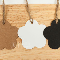 HANGTAG bunga tag label merk baju brand tas produk samson karton new