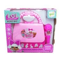 Mainan Music Microphone Koper - LOL Surprise Music Bag