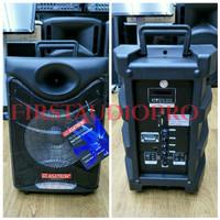 Ready Speaker Portable Meeting Wireless Asatron HT 8885 UKM 8 inch