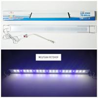 Lampu LED Aquarium / YAMANO LED P 800 12 Watt / 70-80 Cm