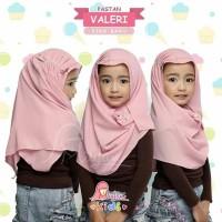 Jilbab Kerudung Pastan Pashmina Instan Anak Kecil Lucu Valeri Miulan
