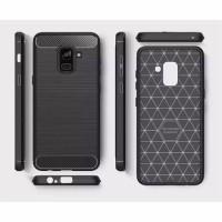 Samsung A8 2018 - DELKIN IPAKY Carbon Case