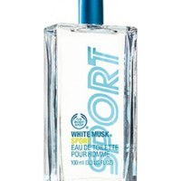 Original Reject Parfume Pria The Body Shop White Musk Sport for men