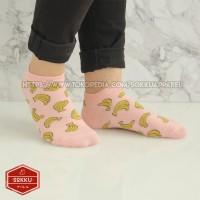 Kaos kaki dewasa cewek mata kaki lucu motif buah pasang semangka