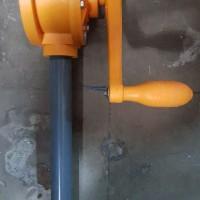 POMPA PVC MANUAL Tangan Oli Minyak Rotary Hand Oil Pump Oriental KIMIA
