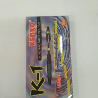 Pen Kenko K1 0.5mm - warna hitam