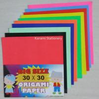 Kertas Lipat Origami Paper Craft 30x30cm Big Size-Asturo.