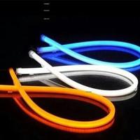 LAMPU LED ALIS NEON 60 CM DRL FLEXIBLE/FLEKSIBEL VARIASI MOTOR MOBIL