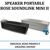 Speaker Portabke Bose Soundlink Mini 2 II Carbon Black Colour Original