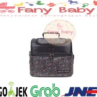 Natural Moms Cooler Bag Sling Black Phoenix / Tas Asi Bayi