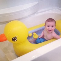 Baby bathub Munchkin Duck Bath/Bak mandi bayi/Kolam mandi Bermain