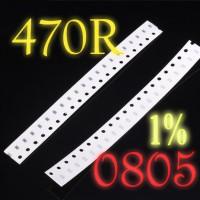 SMD 470R 470Ω Resistor 0805 1% SMT 470 Ohm