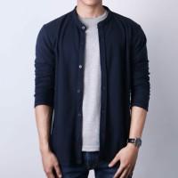 Kaos Kemeja Ciangi Lengan Panjang by Eldeer - Putih, S
